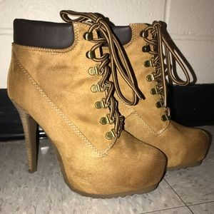 Timberland ankle boot heels